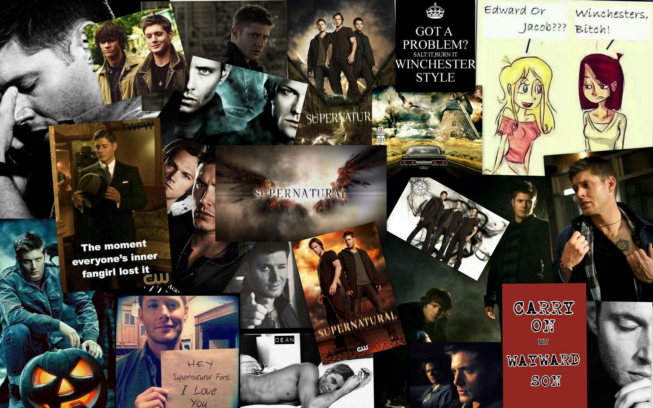 Supernatural Tumblr Collage Image Mag : Supernatural Collage Shauna Granger from imagemag.ru size 5120 x 3200 jpeg 2571kB