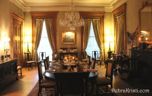 Madewood Dining Room in The Journey to Madewood Plantation Post by Debra Kristi, Author