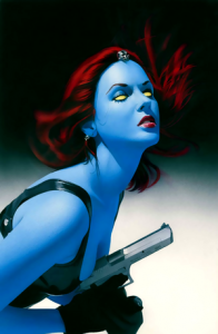 Mystique from X-Men in The Native American Skinwalker article by Debra Kristi, Author