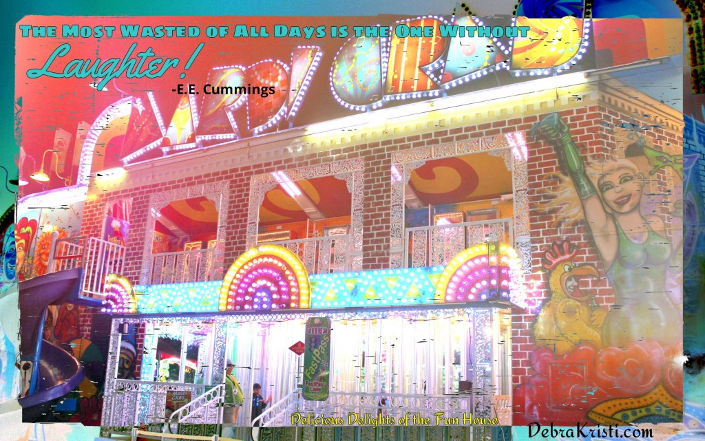 Fun House in A Carnival, A Circus, and A Notebook post by Debra Kristi author