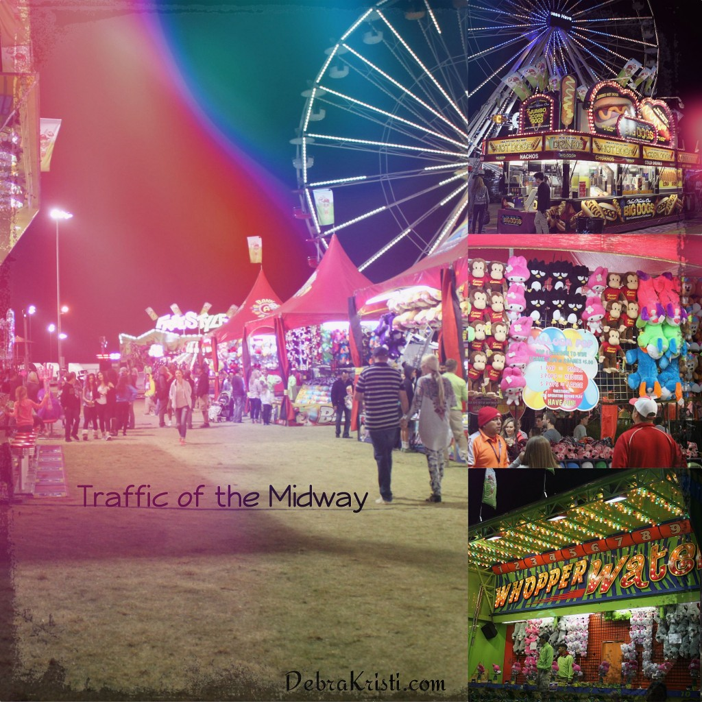 midway and games in A Carnival, A Circus, and A Notebook post by Debra Kristi author