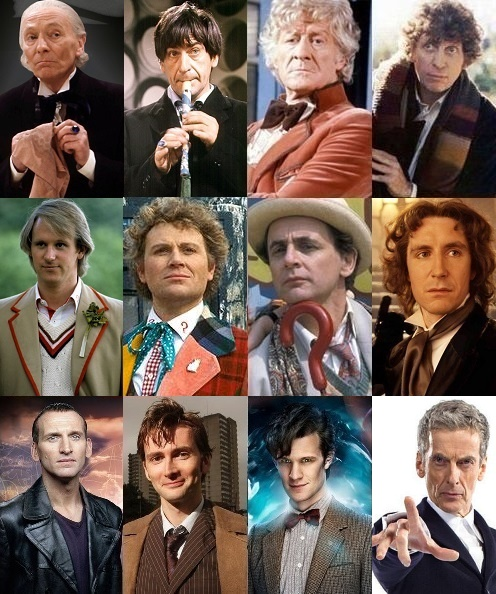 Versions_of_the_Doctor in Immortal Monday with a Time Lord by Debra Kristi, author
