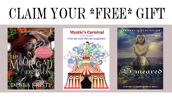 Claim your FREE story starters by Debra Kristi, author