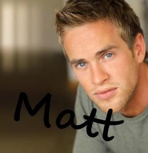 Matt in Mystic's character file by Debra Kristi, author
