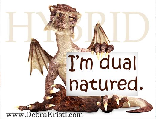 Hybrid in Dragons & Hybrids: Immortal Monday by Debra Kristi, author