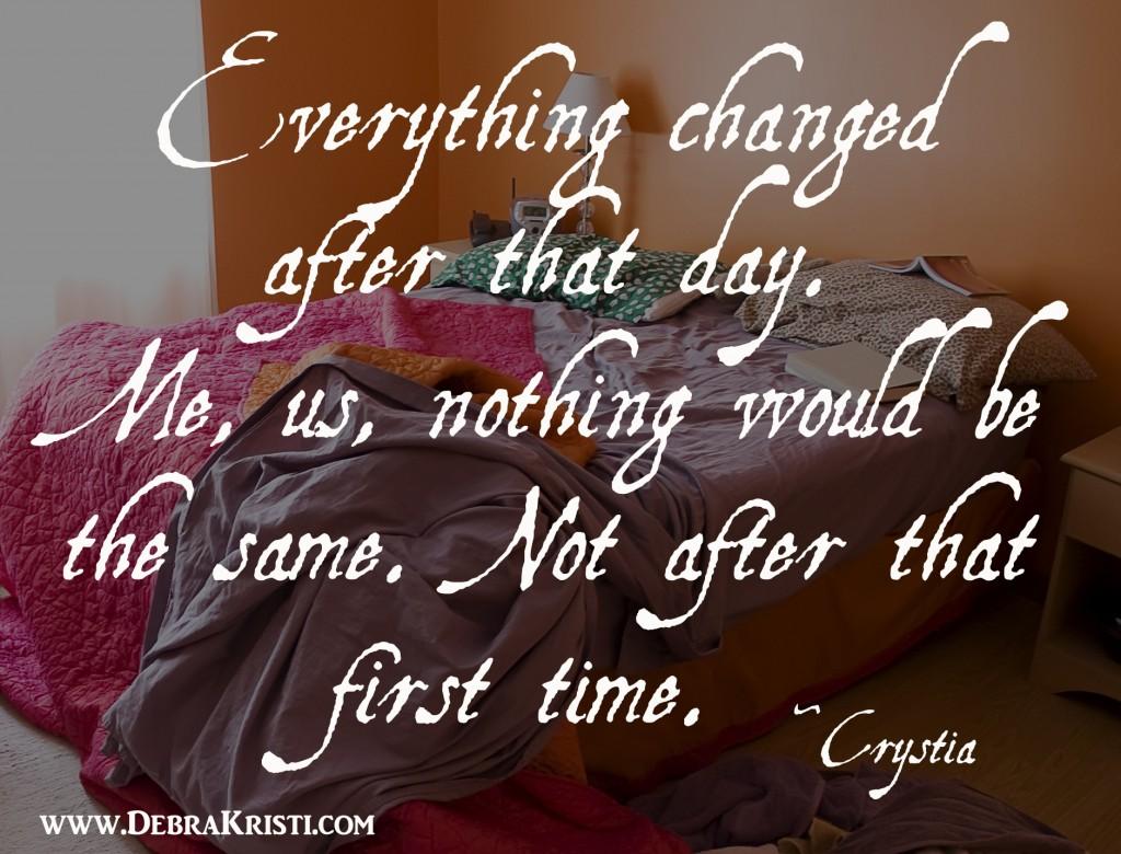 Crystia Backstory by Debra Kristi, author