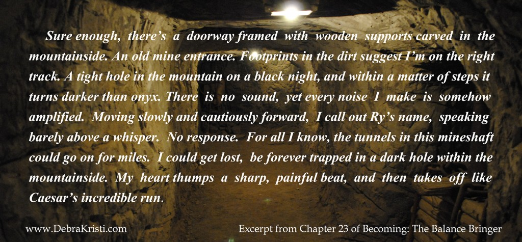 Becoming: The Balance Bringer excerpt in Mining For Proper Representation by Debra Kristi, author