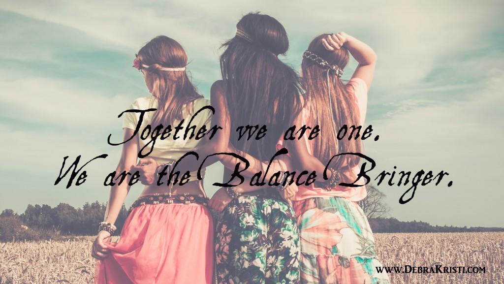 The Blanace Bringer Truine by Debra Kristi, author