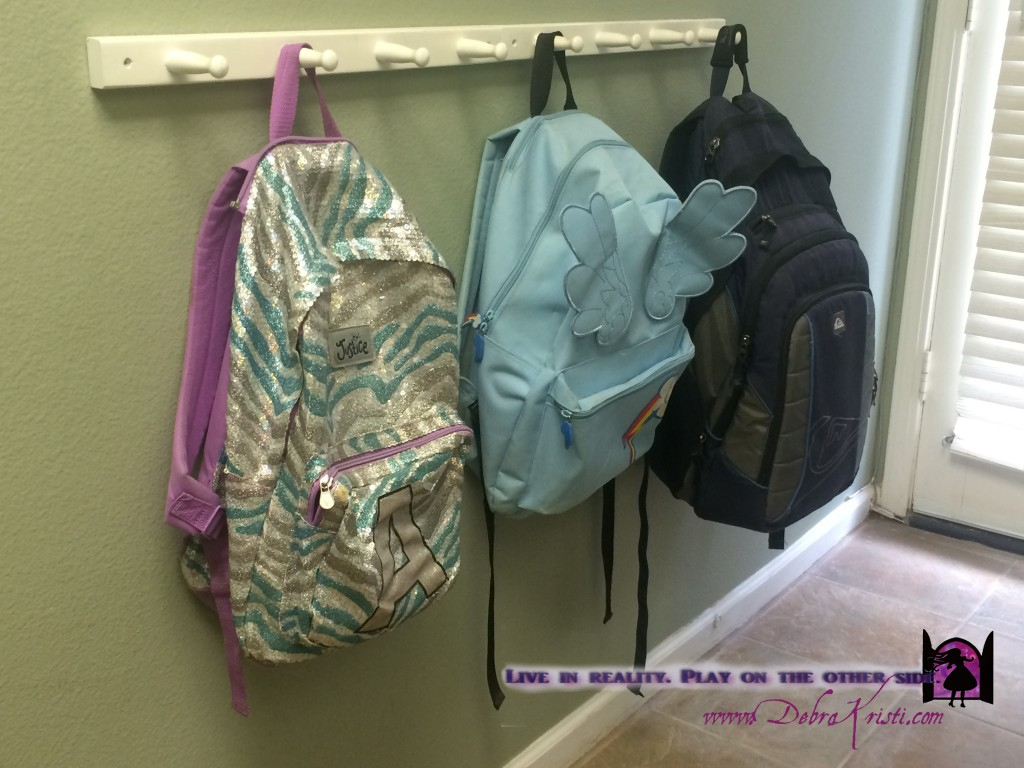 School supply storage in Organization Ideas: Storage of School Supplies by Debra Kristi, author