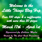 Little Things Blog Hop in The Little Things Blog Hop by Debra Kristi, author