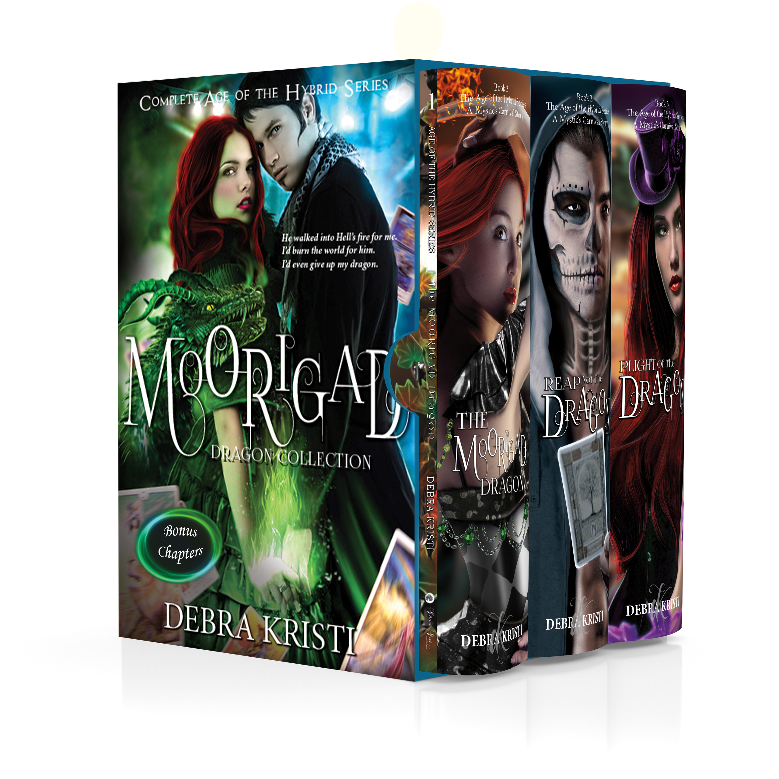Moorigad: The Complete Age of the Hybrid Series eBook in Cover Reveal for Moorigad: The Big Book by Debra Kristi author