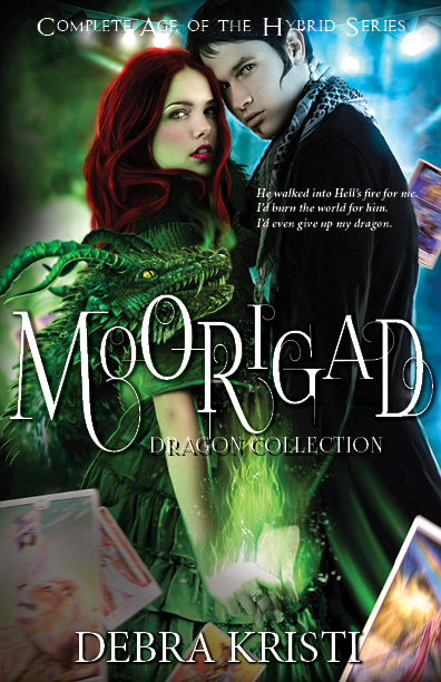 Moorigad: The Complete Age of the Hybrid Series in Cover Reveal for Moorigad: The Big Book by Debra Kristi, author