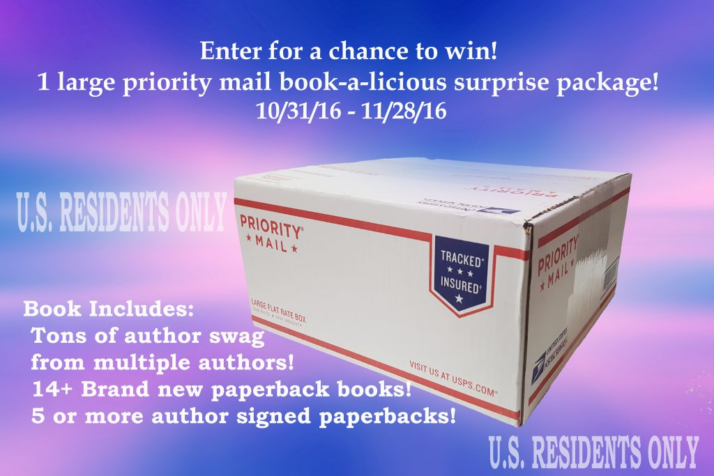 Book-filled Surprise Box Giveaway via Debra Kristi, author
