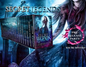 Secret Legends pre-release party by Debra Kristi, author